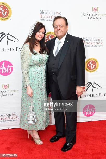 Dee Dee Sorvino and Paul Sorvino attends the Unbridled Eve Gala during the 144th Kentucky Derby at Galt House Hotel Suites on May 4 2018 in...