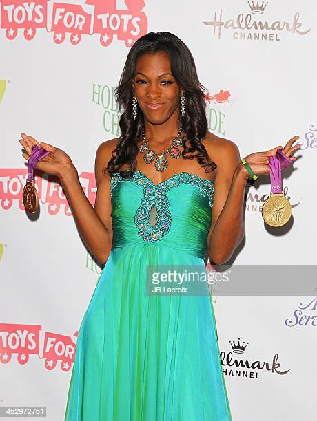 Dee Dee Trotter attends the Hollywood Christmas Parade benefiting Toys For Tots foundation on December 1 2013 in Hollywood California
