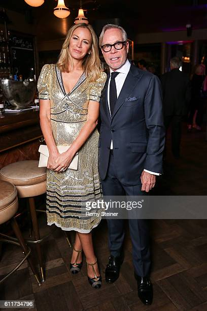 Dee Hilfiger and Tommy Hilfiger at the Tommy Hilfiger Dinner in celebration of the 12th Zurich Film Festival on September 30 2016 in Zurich...