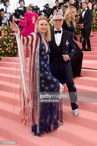 Dee Hilfiger and Tommy Hilfiger attend The 2019 Met Gala Celebrating Camp Notes on Fashion at Metropolitan Museum of Art on May 06 2019 in New York...