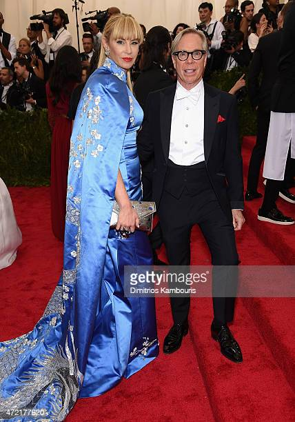 Dee Hilfiger and Tommy Hilfiger attend the 'China Through The Looking Glass' Costume Institute Benefit Gala at the Metropolitan Museum of Art on May...