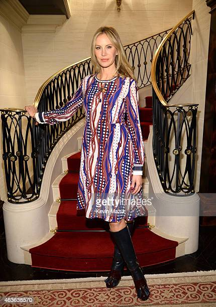 Dee Hilfiger attends the Tommy Hilfiger 30th anniversary cocktail reception on February 16 2015 in New York City