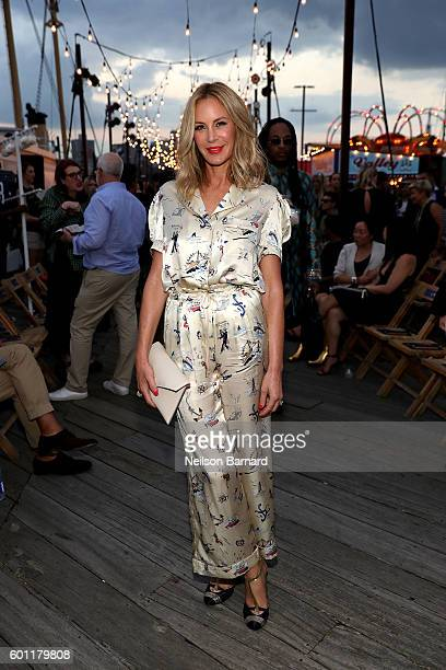Dee Hilfiger attends the #TOMMYNOW Women's Fashion Show during New York Fashion Week at Pier 16 on September 9 2016 in New York City