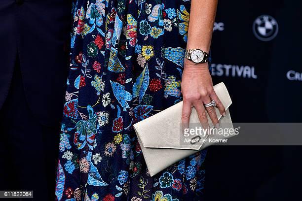 Dee Hilfiger fashion detail attends the Award Night during the 12th Zurich Film Festival on October 1 2016 in Zurich Switzerland The Zurich Film...