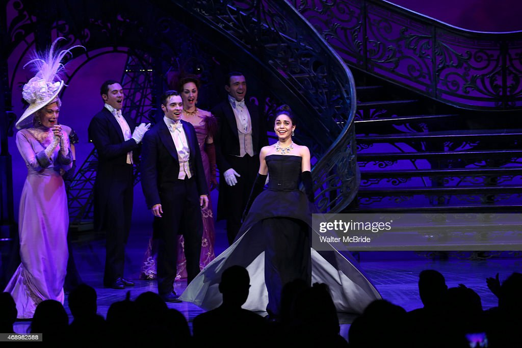 """Gigi"" Broadway Opening Night - Arrivals And Curtain Call"