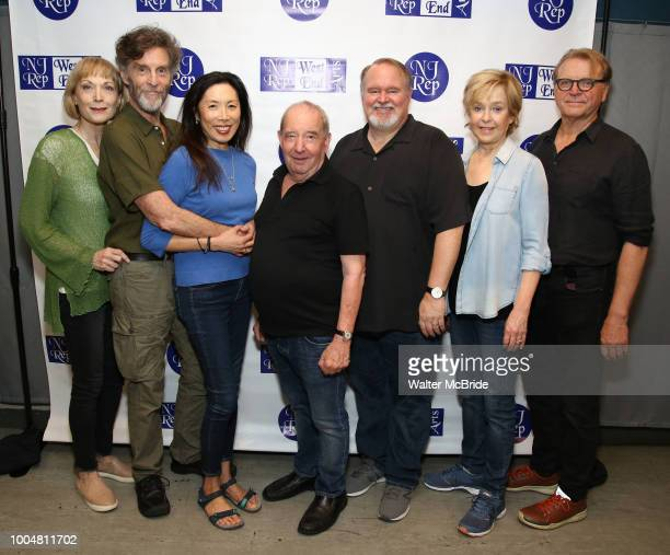 Dee Hoty John Glover Jodi Long Michael Tucker Tom McGowan Jill Eikenberry and David Rasche attend the Meet and Greet for the New Jersey Repertory...