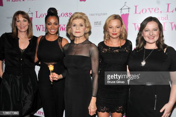 Dee Hoty La La Anthony Concetta Tomei Samantha Mathis and Zuzanna Szadkowski attend the Love Loss And What I Wore two year celebration at B Smith's...