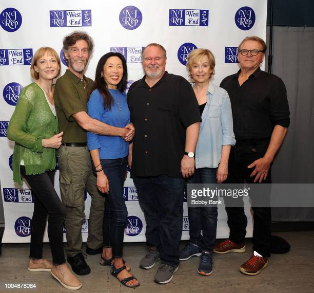 Dee Hoty Tom McGowan John Glover David Rasche Jill Eikenberry and Jodi Long attends the 'Fern Hill' Director And Cast Meet And Greet at Theatre Row...