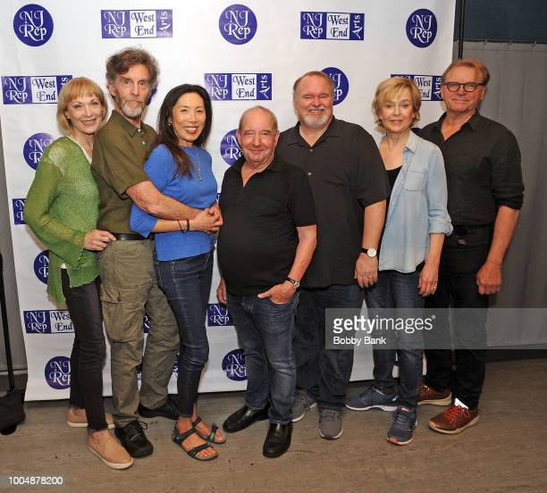 Dee Hoty Tom McGowan John Glover David Rasche Jill Eikenberry Jodi Long with playwright Michael Tucker attend the 'Fern Hill' Director And Cast Meet...