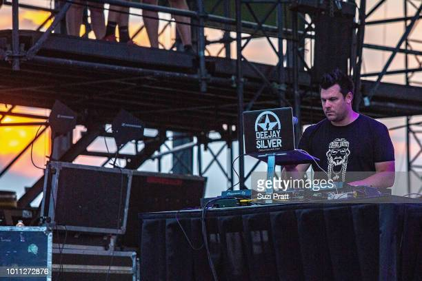 Dee Jay Silver performs at Watershed Festival at Gorge Amphitheatre on August 4 2018 in George Washington