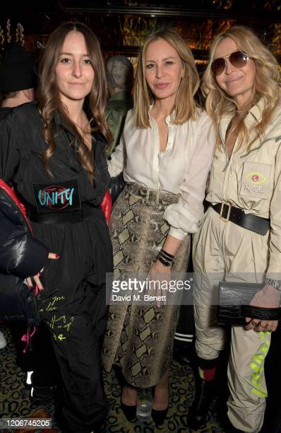 Dee Ocleppo and guests attend the TOMMYNOW after party at Annabels on February 16 2020 in London England