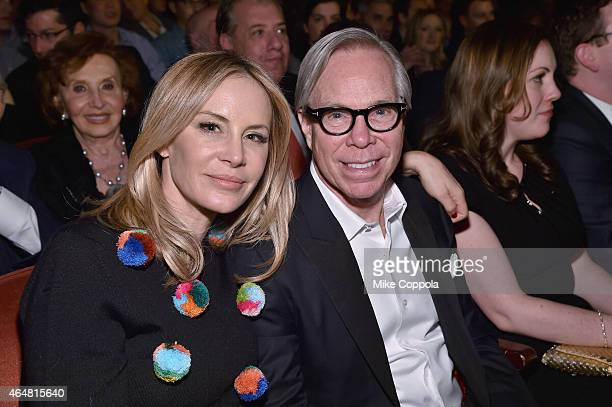 Dee Ocleppo and Tommy Hilfiger attend Comedy Central Night Of Too Many Stars at Beacon Theatre on February 28 2015 in New York City