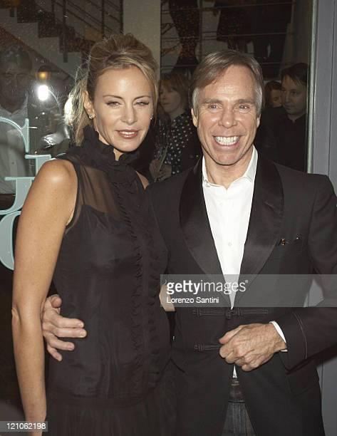 Dee Ocleppo and Tommy Hilfiger during Auction of Grace Kelly Photographs for The Princess Grace of Monaco Foundation in Paris November 29 2006 at...