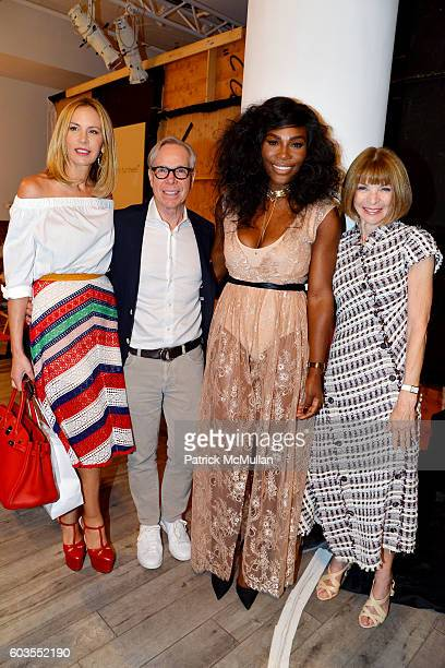 Dee Ocleppo Tommy Hilfiger Serena Williams and Anna Wintour attend Serena Williams Signature Statement Collection By HSN Backstage September 2016...