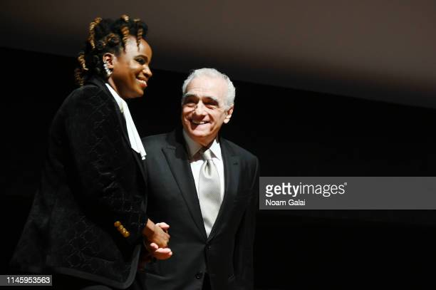 Dee Rees and Martin Scorsese attend the Film Society Of Lincoln Center's 50th Anniversary Gala at Lincoln Center on April 29 2019 in New York City