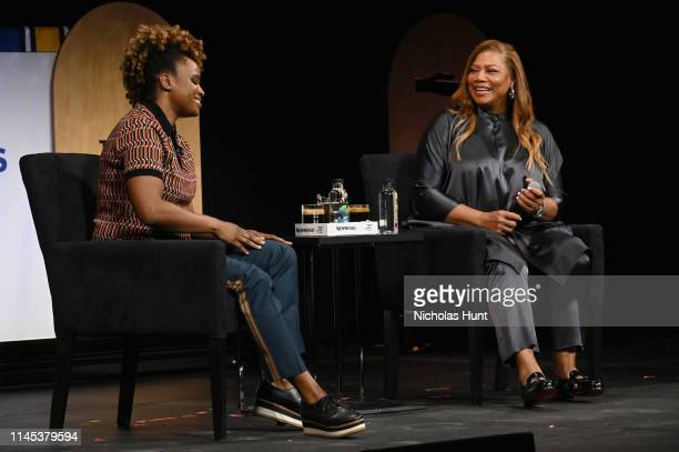 Dee Rees and Queen Latifah Speak at the Tribeca Talks - Premiere of The Queen Collective Shorts - 2019 Tribeca Film Festival at Spring Studio on...