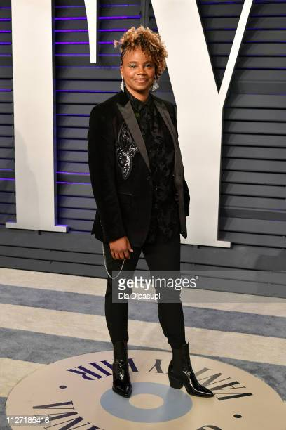 Dee Rees attends the 2019 Vanity Fair Oscar Party hosted by Radhika Jones at Wallis Annenberg Center for the Performing Arts on February 24 2019 in...