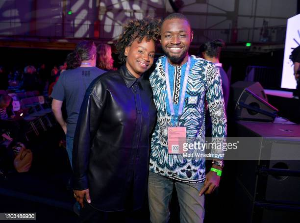Dee Rees attends the 2020 Sundance Film Festival Awards Night Ceremony at Basin Recreation Field House on February 01 2020 in Park City Utah