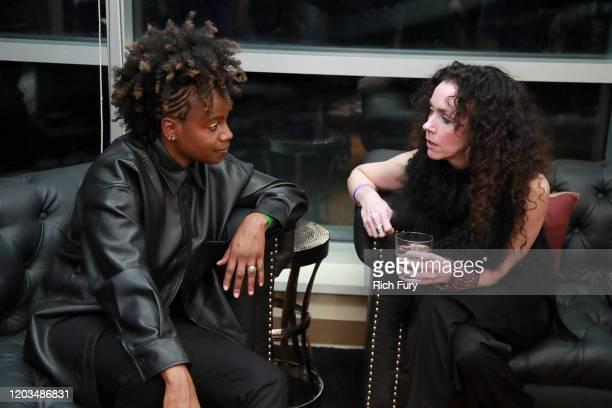 Dee Rees attends the Awards Presenters Reception during the 2020 Sundance Film Festival at Basin Recreation Yoga Studio on February 01 2020 in Park...