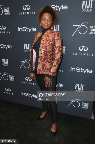 Dee Rees attends the Hollywood Foreign Press Association and InStyle celebrate the 75th Anniversary of The Golden Globe Awards at Catch LA on...