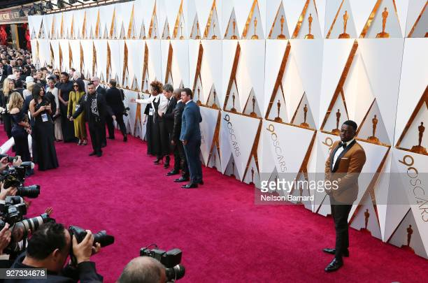 Dee Rees Sarah M Broom and Daniel Kaluuya attend the 90th Annual Academy Awards at Hollywood Highland Center on March 4 2018 in Hollywood California