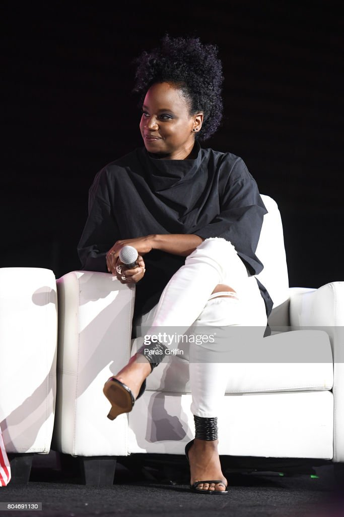 Dee Rees speaks onstage at the 2017 ESSENCE Festival presented by Coca-Cola at Ernest N. Morial Convention Center on June 30, 2017 in New Orleans, Louisiana.