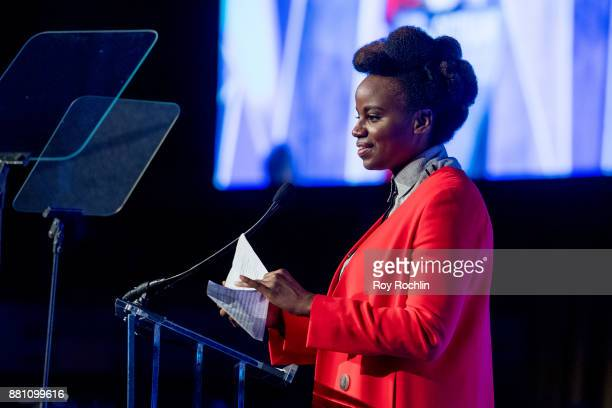 Dee Rees speaks onstage during IFP's 27th Annual Gotham Independent Film Awards at Cipriani Wall Street on November 27 2017 in New York City