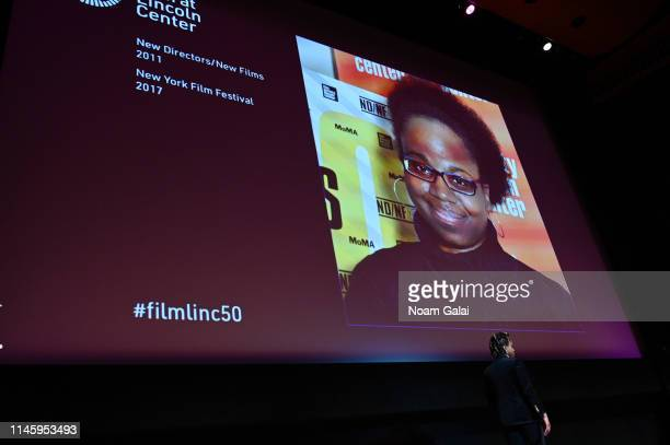 Dee Rees speaks onstage during the Film Society Of Lincoln Center's 50th Anniversary Gala at Lincoln Center on April 29 2019 in New York City