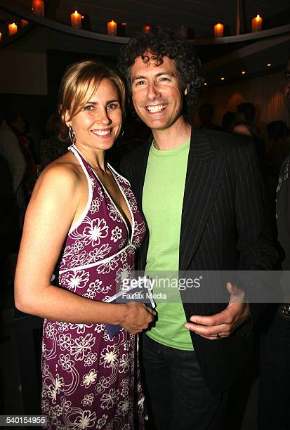 Dee Smart and Lee Rogers at the Flickerfest launch at Icebergs Bondi Sydney 5 December 2006 SHD Picture by JANIE BARRETT