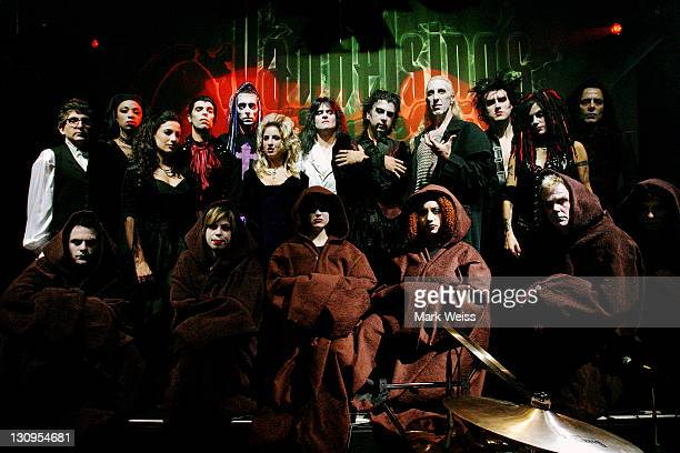 Dee Snider and cast during Van Helsing's Curse Halloween Tour 2004 October 15 2004 in Patchogue NY United States