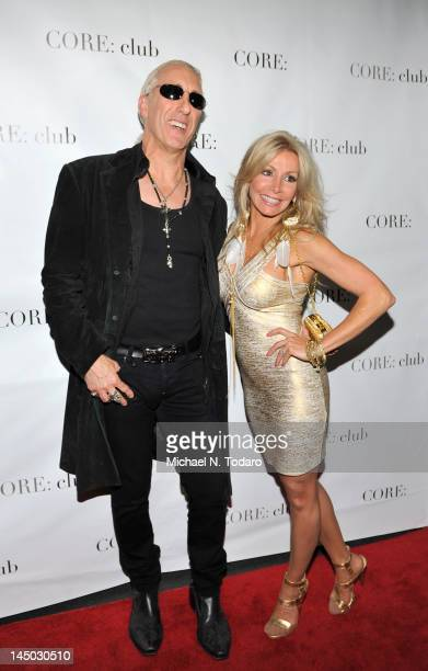 Dee Snider and Suzette Snider attend the Celebrity Apprentice Panel Discussion at The Core Club on May 22 2012 in New York City