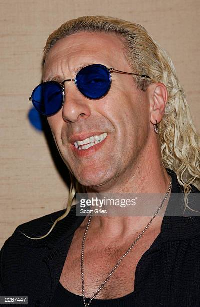 Dee Snider at a special screening of Warning Parental Advisory a VH1 original movie at the Tribeca Screening Room in New York City Warning is a...