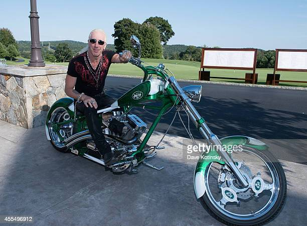 Dee Snider attends The Eric Trump 8th Annual Golf Tournament at Trump National Golf Club Westchester on September 15 2014 in Briarcliff Manor New York