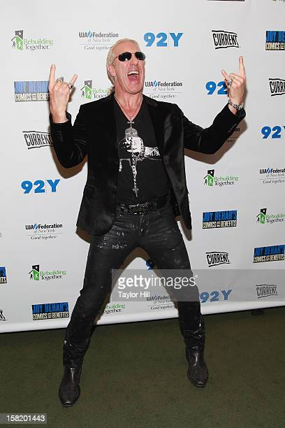 Dee Snider of Twisted Sister attends Joy Behar's Comics with Benefits A Special Night Of Comedy Benefiting Victims Of Hurricane Sandy at 92nd Street...