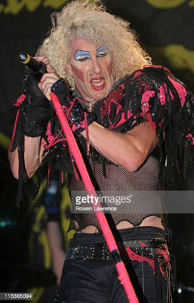 Dee Snider of Twisted Sister during 21st Rock and Blues Custom Show Festival July 31 2004 at Open Field in Pentrich Derbyshire Great Britain
