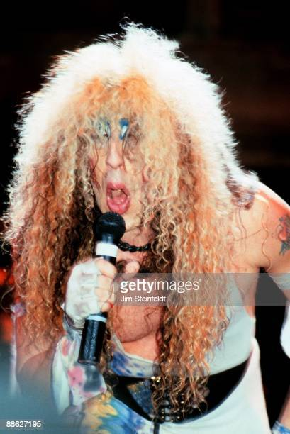 Dee Snider of Twisted Sister performs in Minnesota in 1986