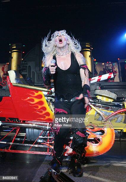 dee snider performs during a twisted christmas at the nokia theater on december 6 - A Twisted Christmas