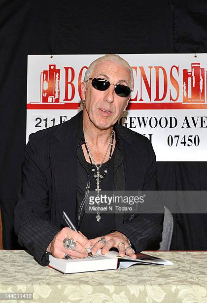 Dee Snider visits at Bookends on May 7, 2012 in Ridgewood, New Jersey.