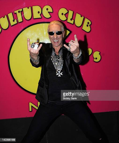 Dee Snider visits the Culture Club on April 3 2012 in New York City