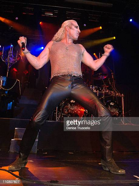 Dee Snider with Van Helsing's Curse during Dee and Suzette Snider's Vow Renewal by Penn Jillette Featuring Van Helsing's Curse at The Joint at The...