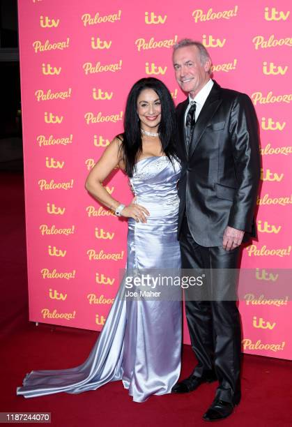 Dee Thresher and Dr Hilary Jones attend the ITV Palooza 2019 at The Royal Festival Hall on November 12 2019 in London England