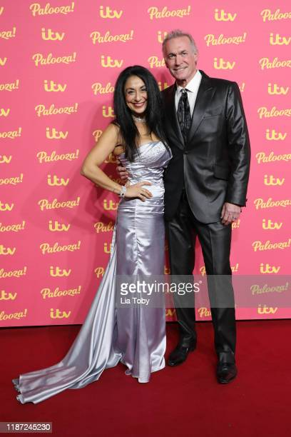 Dee Thresher and Dr. Hilary Jones attend the ITV Palooza 2019 at The Royal Festival Hall on November 12, 2019 in London, England.