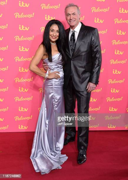Dee Thresher and Dr Hilary Jones attends the ITV Palooza 2019 at the Royal Festival Hall on November 12, 2019 in London, England.