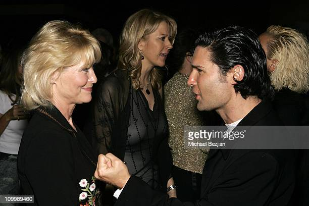 Dee Wallace and Corey Feldman during 4th Annual Indie Producers Awards Gala After Party in Los Angeles California United States