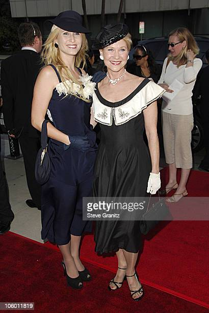 Dee Wallace and Daughter Gabrielle during 'Hollywoodland' Los Angeles Premiere Arrivals at Academy Theatre in Beverly Hills California United States
