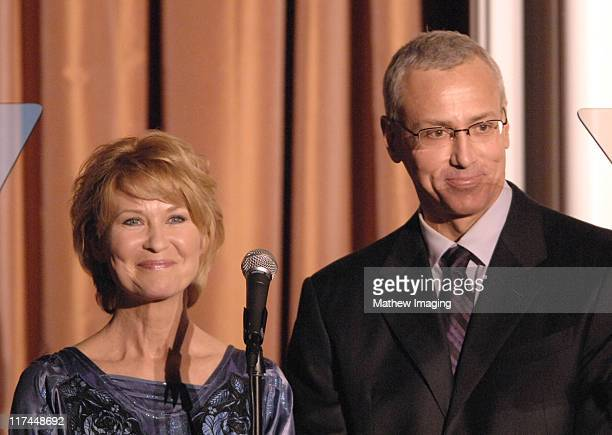 Dee Wallace and Dr Drew Pinsky during The 11th Annual PRISM Awards Award Ceremony at Beverly Hills Hotel in Beverly Hills California United States