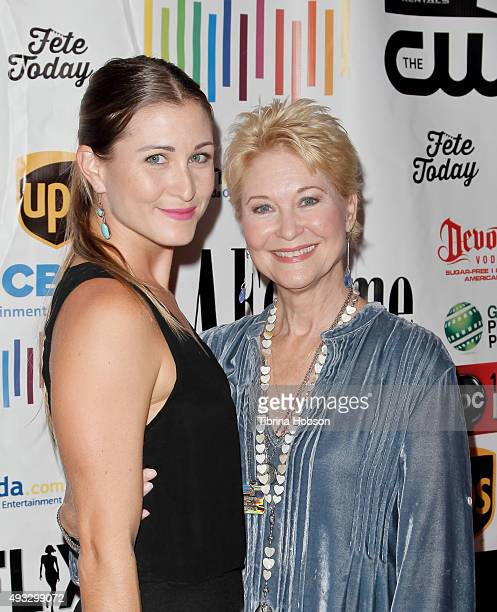 Dee Wallace and her daughter Gabrielle Stone attend the 11th annual LA Femme International Film Festival Awards Gala at The Los Angeles Theatre...