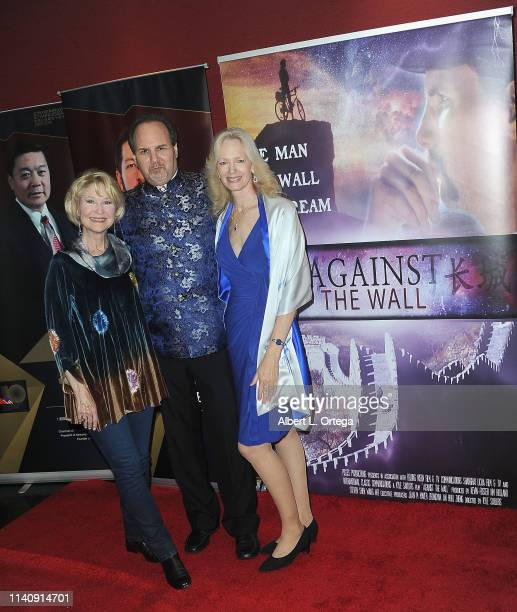 Dee Wallace Kevin Foster and Kim Holland attend the Premiere Of Against The Wall held at Laemmle Monica Film Center on May 2 2019 in Santa Monica...