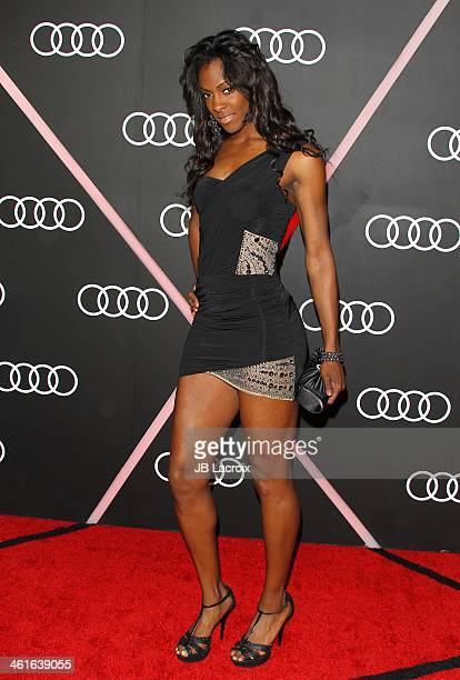 DeeDee Trotter attends the Audi Golden Globes Weekend Cocktail Party held at Cecconi's Restaurant on January 9 2014 in Los Angeles California
