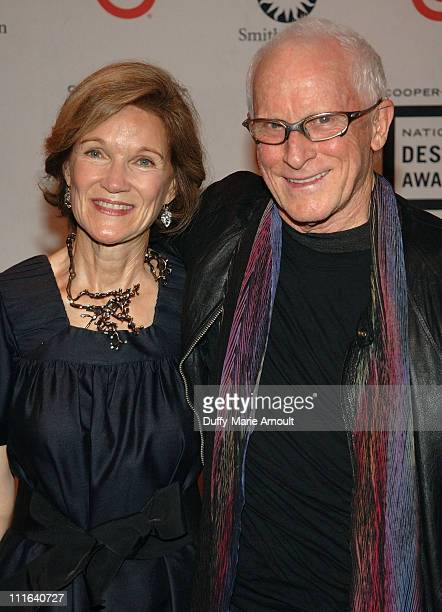 Deedie Rose and architect Antoine Predock attend the 2007 National Design Awards Gala hosted by Euardo Xol from ABC's Extreme Makeover Home Edition...
